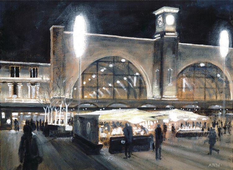 Kings Cross Market by Allan White