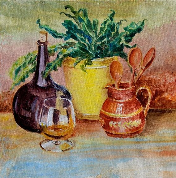 Still Life and Brandy -Willie Drea