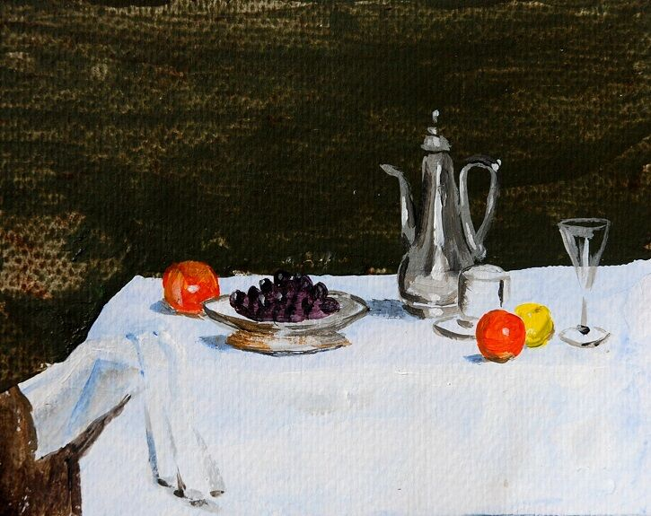 Still Life with Fruit -Willie Drea