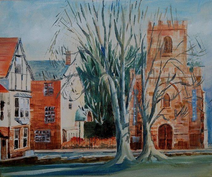 St Mary le Bow, Durham