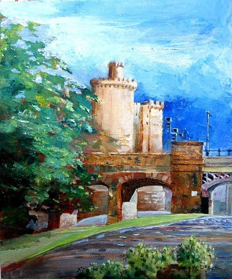 Willie Drea, The Railway and the Castle