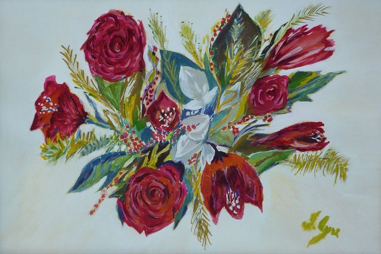 Bouquet by Irene Ayre