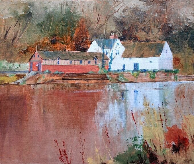 Willie Drea, Corn Mill and Boathouse, Durham