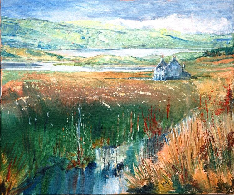 Near Callanish, Harris -Willie Drea -oil