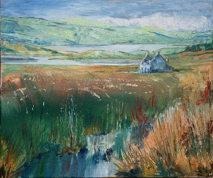 Willie Drea, Callanish Landscape, Lewis