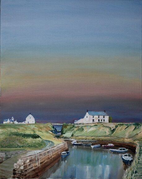 Willie Drea, Evening, Seaton Sluice