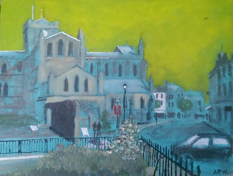 Allan White, Hexham Abbey
