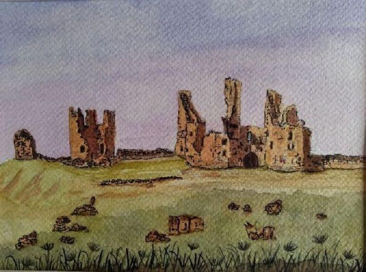 Dunstanburgh by Sheila Lewis