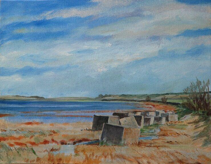 Willie Drea, Causeway Defences (Holy Island)