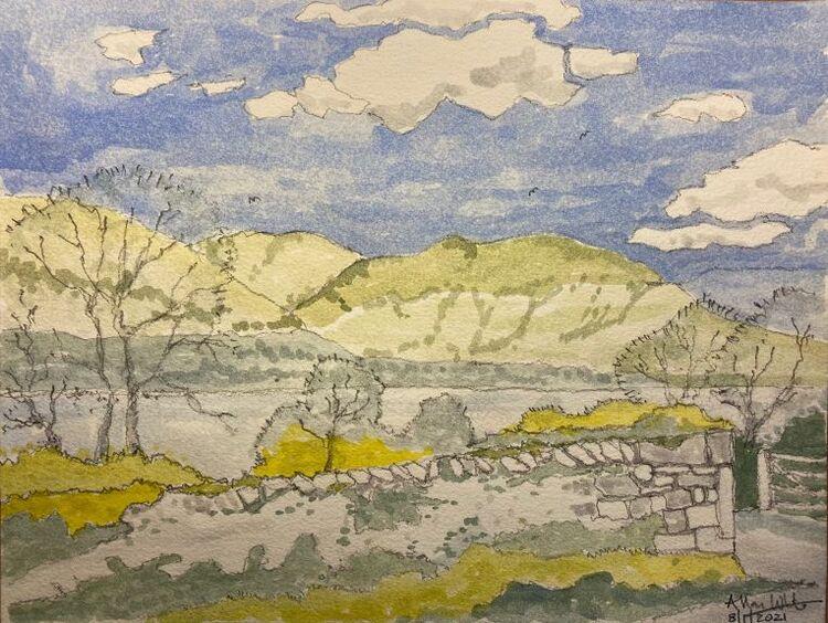 Alla Prima, Lake District -Allan White