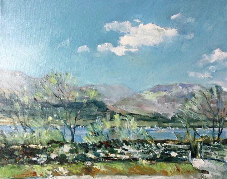 Alla Prima Lake District by Anne Roberts