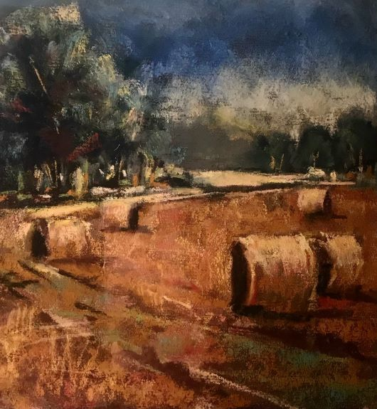 Hay Bails by Tim Griffiths