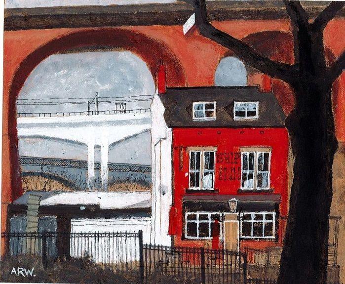 The Ship Inn, Ouseburn by Allan White