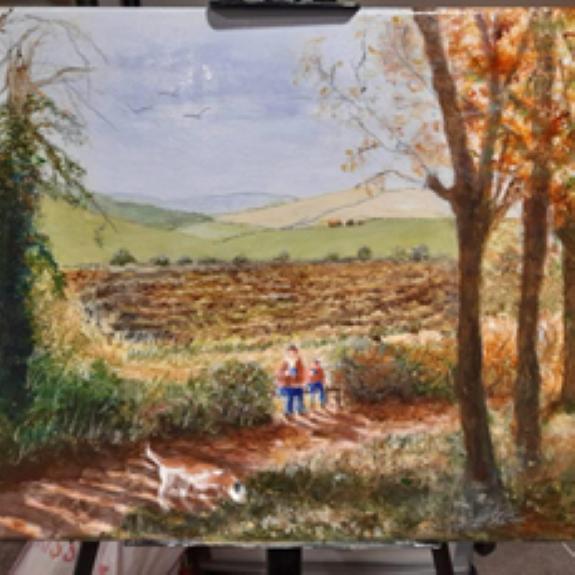Alison Fereday -Autumn Time