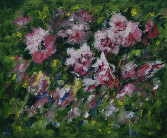 Alla Prima Blossoms by Audrey Drynan