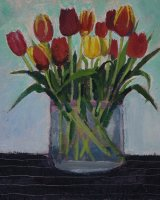 Tulips Alla Prima