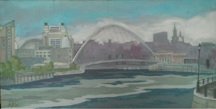 Allan White, Baltic from the Ouseburn