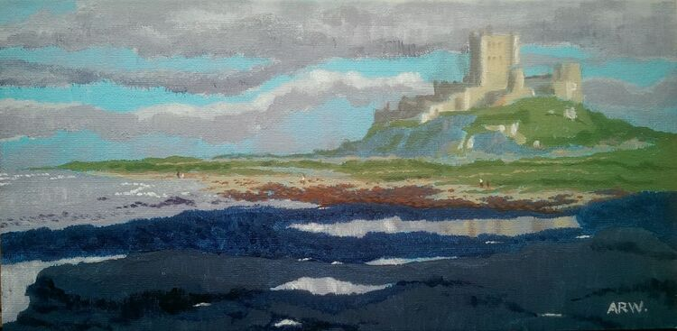 Allan White, Bamburgh