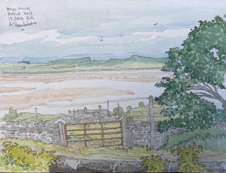 Allan White 'Kiln Point Budle Bay '