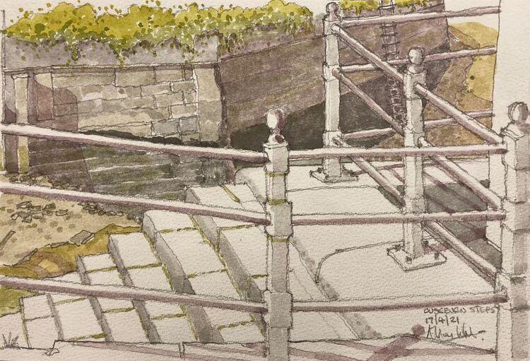 Allan White 'Ouseburn Steps '