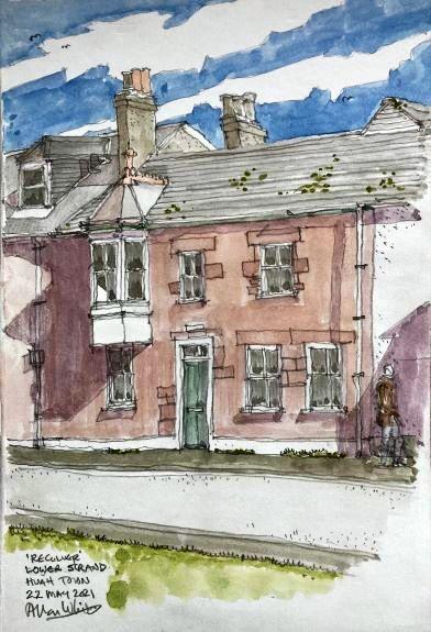 Allan White ' Reculver, Hugh Town, Scilly '