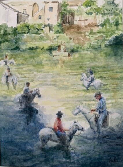 Anne Brown, Horses of the Camargue