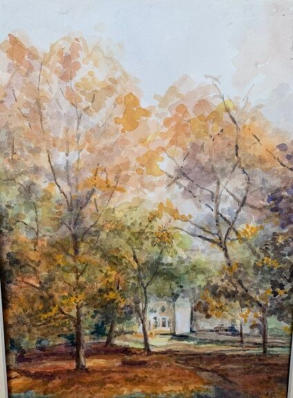 Anne Brown, Autumn Across the Green
