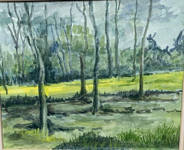 Anne Brown, Light Through the Trees