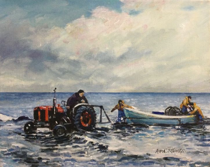 Anne Roberts, Towing the Boats