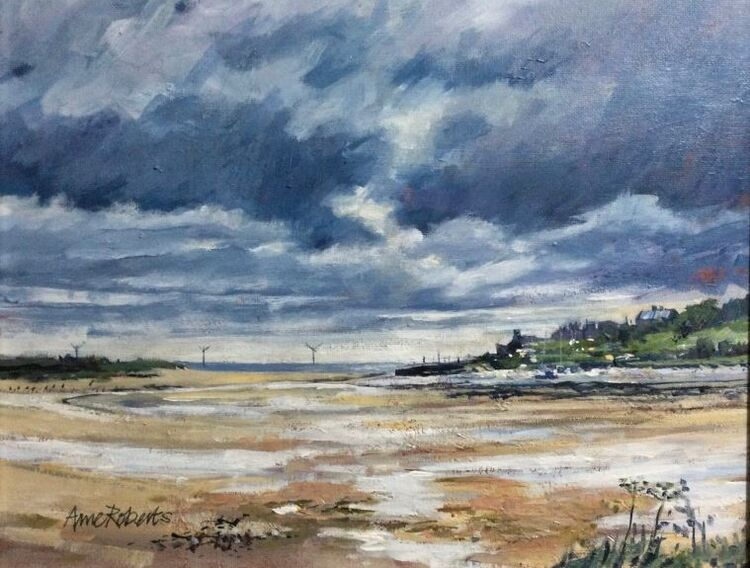 Anne Roberts, Cambois, the Wansbeck Estuary