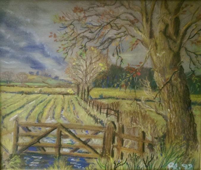 Autumn by Brian Wilson -mixed media