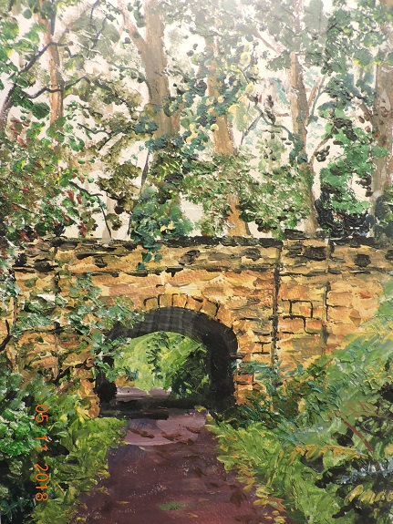 Consett Walk by Brian Wilson, -acrylic