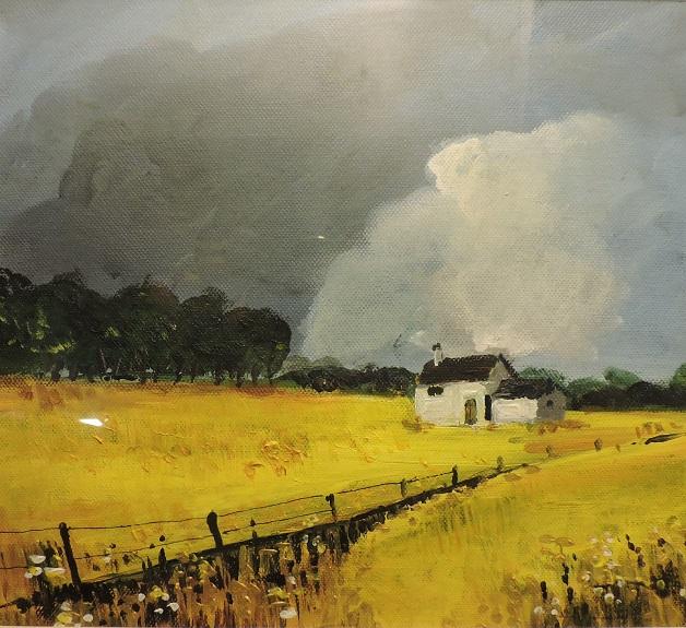 Cornfield by Brian Wilson, -acrylic
