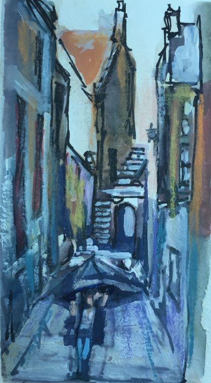 Berwick image2 -by Tim Griffiths -watercolour