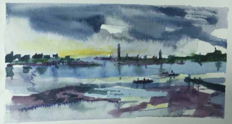 Berwick image6 by Tim Griffiths -watercolour