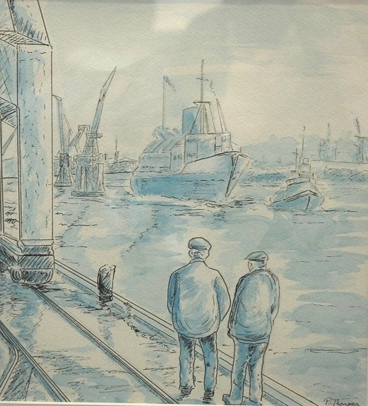 Boat Builders by Pat Thompson