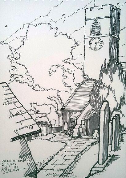 Allan White, Corbridge Church