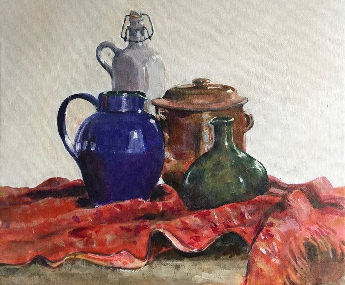Anne Roberts, Kitchen Pots