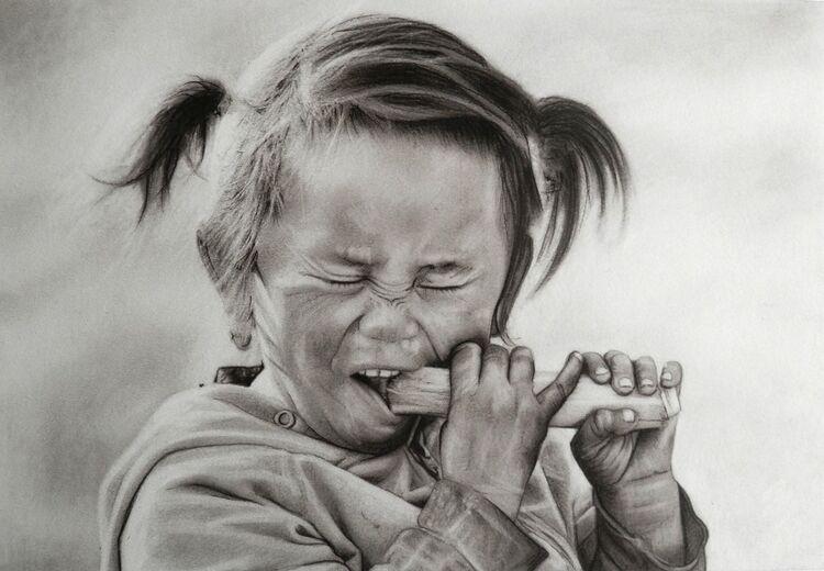 Doug Stevenson -Sugarcane, charcoal