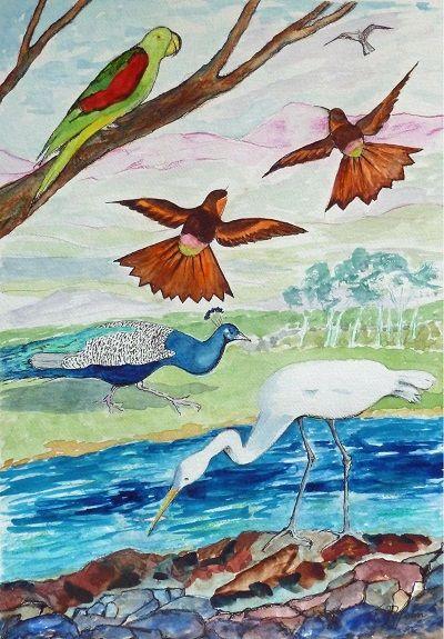 Jenny Dyson, Feathered Fantasy
