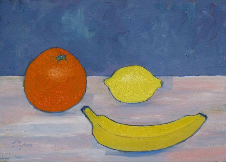 Jenny Dyson -Fruit on the Kitchen Table