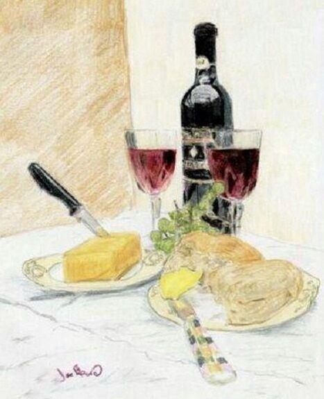 Joe Beard, Cheese and Wine