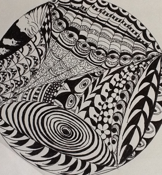 Margaret Richardson -Zentangle1