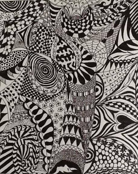 Margaret Richardson -Zentangle 2