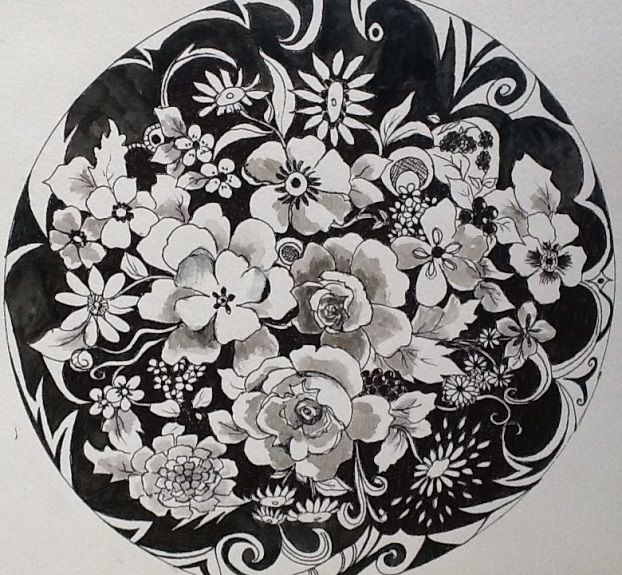 Margaret Richardson - Zentangle 3