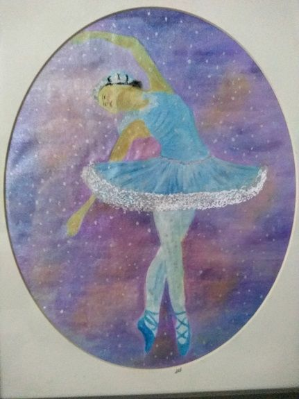 Sheila Lewis, Ballerina -mixed media (£45.00)