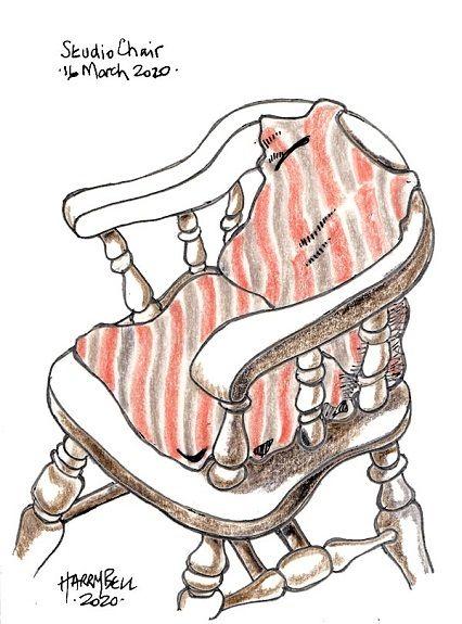 Harry Bell -Studio Chair