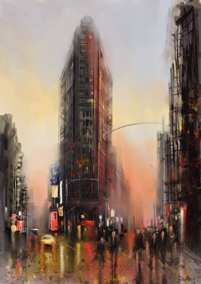 Tim Griffiths, Flat Iron Building Manhattan NY