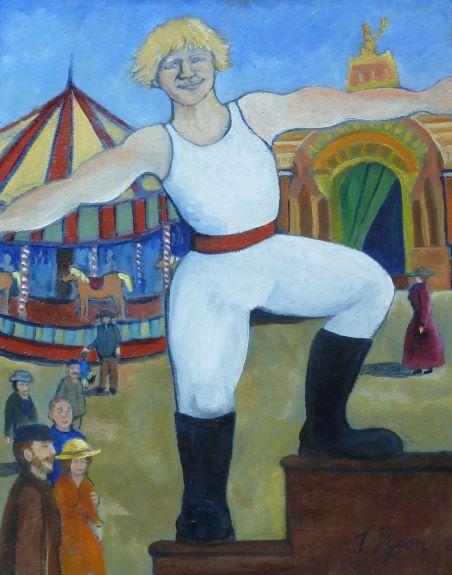 Jenny Dyson, Strongman at the Fair