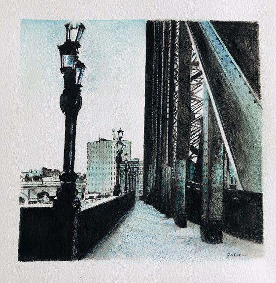 Julie Manning, Tyne Bridge